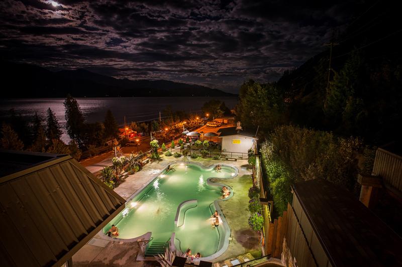 Ainsworth hot springs